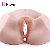 Hismith Male Masturbator Lifelike Virgin Pussy Ass doll 3D Realistic Tight Vagina Anus Medical TPE Ass Sex Doll sex toys for men