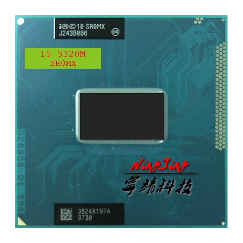 Процессор Intel Core i5-3320M i5 3320M SR0MX 2,6 ГГц двухъядерный четырехпоточный процессор 3M 35W Socket G2 / rPGA988B