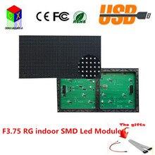 F3.75 крытый SMD RG светодиодный модуль пикселей пикселей 64 Х 32 размер 304 Х 152 мм, 1/16 сканирования P4.75 с hub08.