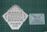 Lace Envelopes Metal Die Cutting Scrapbooking Embossing Dies Cut Stencils Decorative Cards DIY Album Card Paper