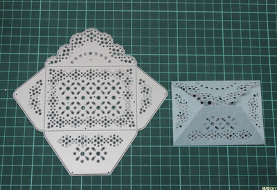 Lace envelopes Metal Die Cutting Scrapbooking Embossing Dies Cut Stencils Decorative Cards DIY album Card Paper Card Maker design personalized printing red wedding invitations cards blank paper card kit laser cut lace flower convite pack of 50