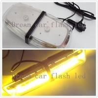 01039 12V-24V very bright light Amber 72SMD warning light LED emergency signal lamp LED Flash Light Mini bar lamp Ambulance lamp
