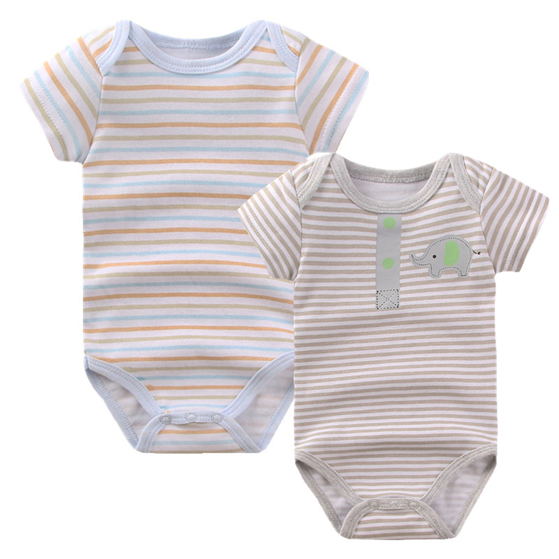Baby Romper 2016 Summer Overalls Short Sleeve Cotton Baby Boy Girl Rompers Roupas de Bebes Infantil Jumpsuit Baby Clothes R-08 2016 cute baby rompers cotton long sleeve baby clothing overalls for newborn baby clothes boy girl romper ropa bebes jumpsuit