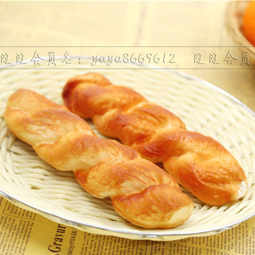 How Twisted Eearly Childhood Education >> New Products For 2017 Fake Twisted Shape Bread Artificial Dessert