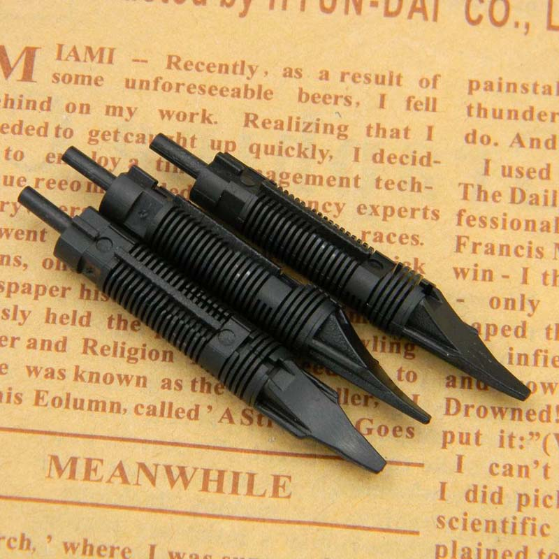 5pc Fountain Pen Nib Plastic Limited Edition Fit For Most Fountain Pen International Standard