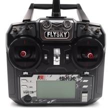 FS-i6X 2.4GHz Remote Control IA6B Receiver for RC Car Drone Mode 2(Left Throttle) – Black