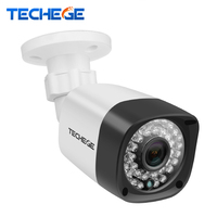 Techege 1280 720 1 0MP POE IP Camera 4pcs Array IR IR Cut NIght Vision ONVIF
