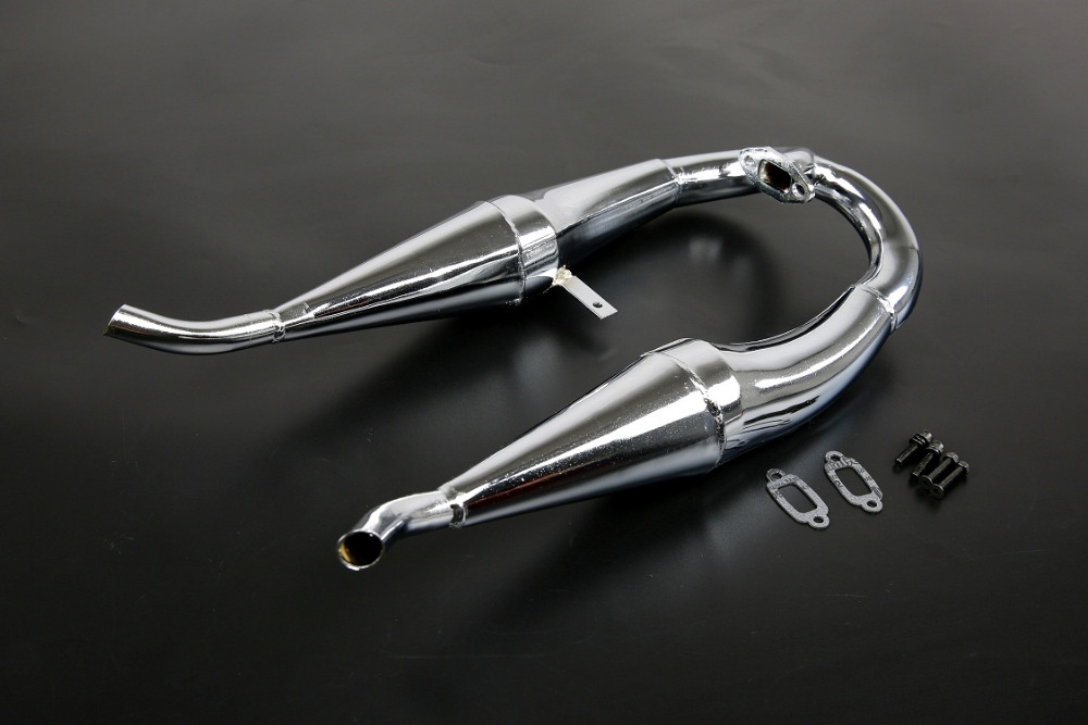 Metal Bilateral side exhaust pipe for 1/5 hpi rovan km baja 5b ss parts menat amulets mb 016 motorcycle bag bilateral package saddle bag bilateral package side bags