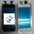 Alta qualiy frente lente de vidro + digitador da tela de toque para o iphone 6 plus 5 5S 5C Outer Substituição Da Tela Do Painel de Toque + ferramentas