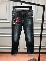 WE08393BH Fashion Men's Jeans 2018 Runway Luxury Brand European Design party style Men's Clothing