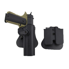 IMI Quick Release 1911 Gun Holster Right Hand Belt For M1911 Airsoft Pistol Hunting Combat Shooting with Magazine Pouch
