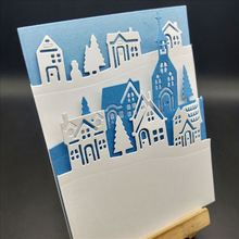 Houses Metal Cutting Dies for Card Making