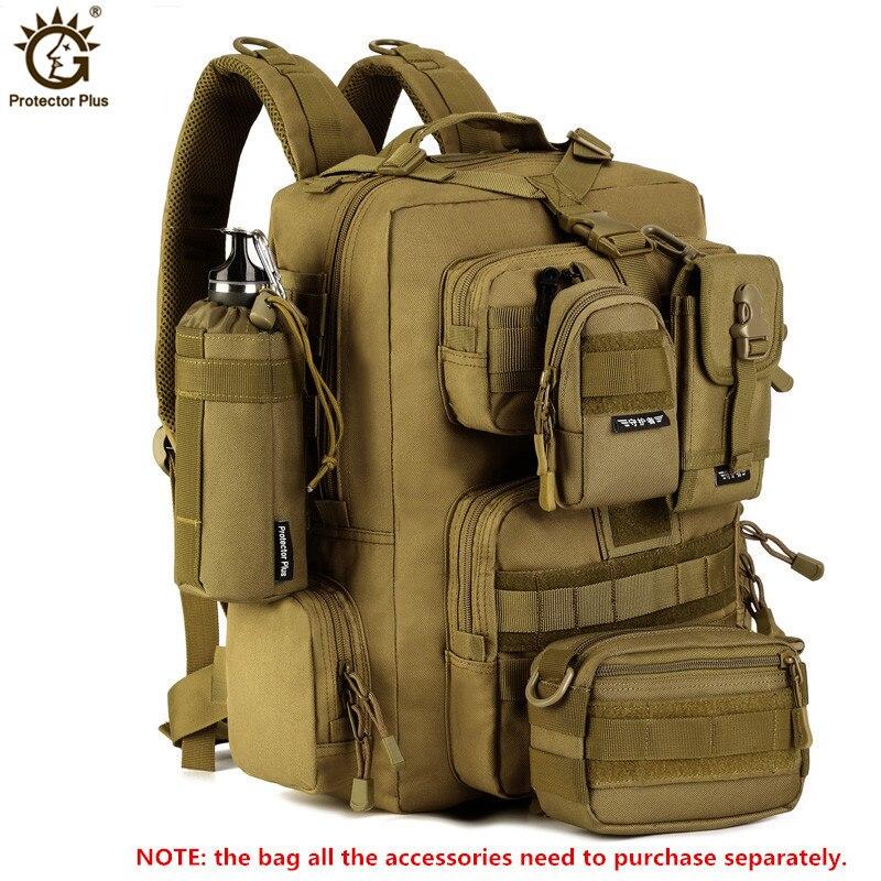 14 pouces ordinateur portable 30L militaire sac à dos hommes multi-fonction imperméable en Nylon Pack sac à dos de voyage Mochila sac à dos de tactique