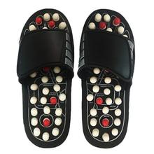 נעלי עיסוי כף הרגל סנדלים ABS כף הרגל לעיסוי הבלעדית לגברים ולנשים נעלי בריאות רפלקסולוגיה טיפול עיסוי כלי הרפיה