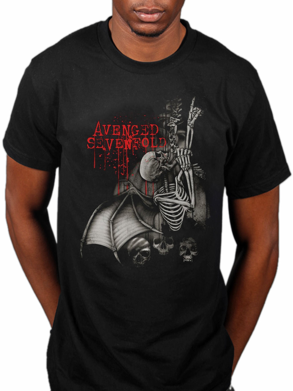 Official Avenged Sevenfold Spine Climber T Shirt A7X Band City Of Evil Nightmare