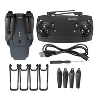 Hot Sale Eachine E58 WIFI FPV With Wide Angle 2 MP HD Camera High Hold Mode Foldable Arm RC Quadcopter RTF VS DJI Mavic Pro 5