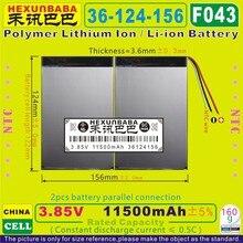 [F043] 3,85 В, 3,8 в, 3,7 в 11500 мАч [36124156] PLIB(полимерный литий-ионный аккумулятор) для планшетных ПК; внешний аккумулятор; электронная книга