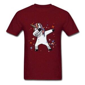 Tupfte Regenbogen Einhorn Stern Fornight Neue T-shirts Herren Hip Hop Technik Techno Punk Pony T Hemd Junge Glücklich Dance Musik DJ