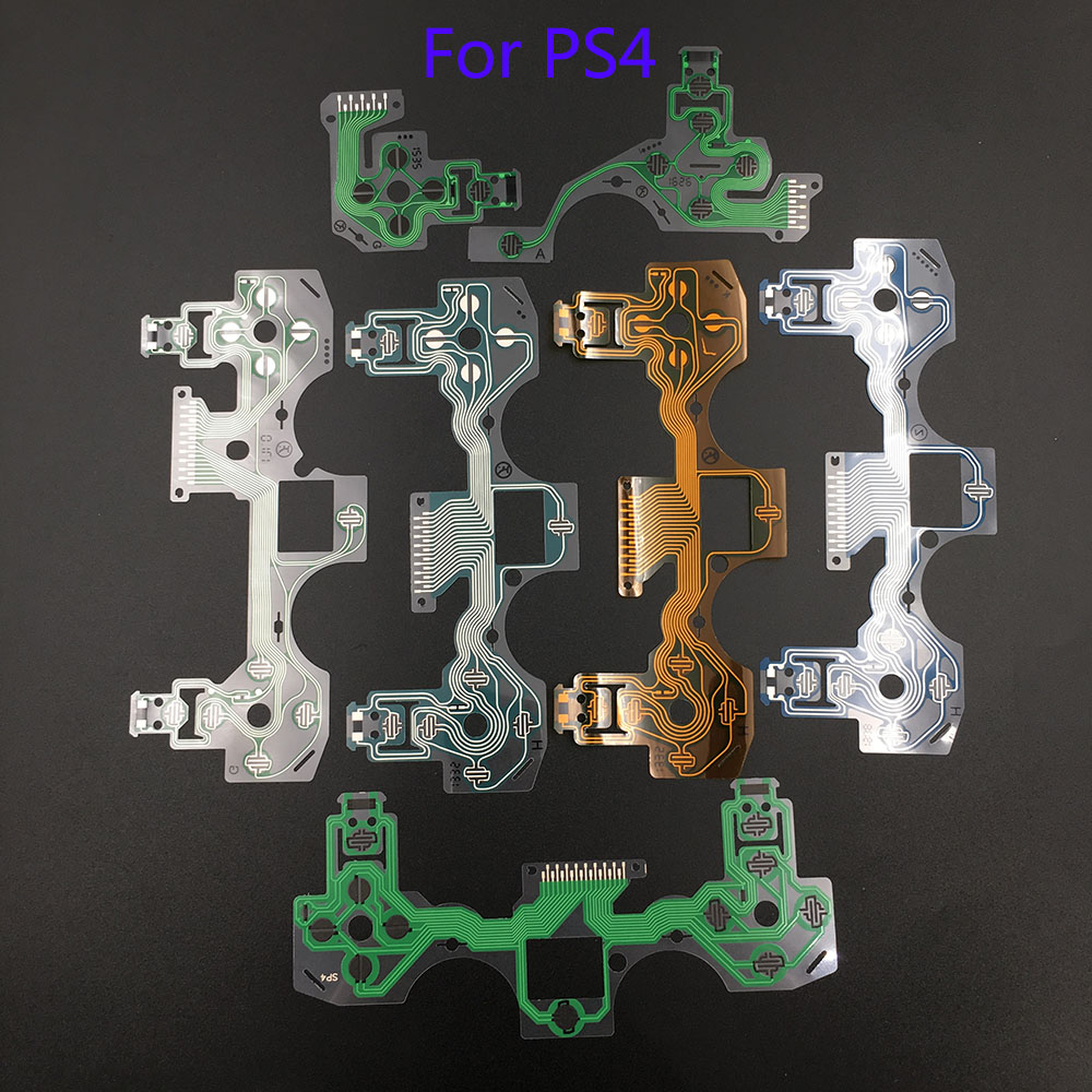 50Pcs High Quality New and Old Version Conductive Film Replacement for Old Version PS4 controller Flex Ribbon Cable