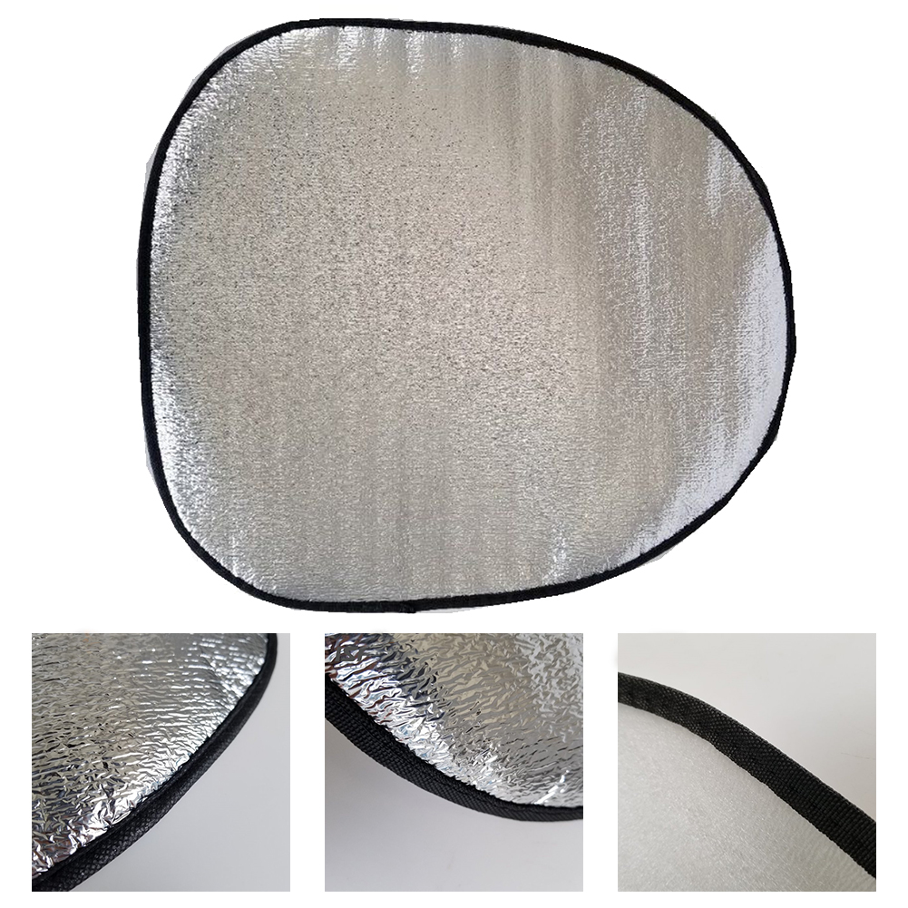 Sunshade Cover Heat Resistence Steering Wheel Car Thicken Sun Protection Reflective Foldable Universal Automotive Aluminum Foil(China)