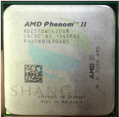 AMD Athlon X2 570 3.3GHz Dual-Core CPU Processor  HDZ570WFK2DGM 80W Socket AM3 938pin