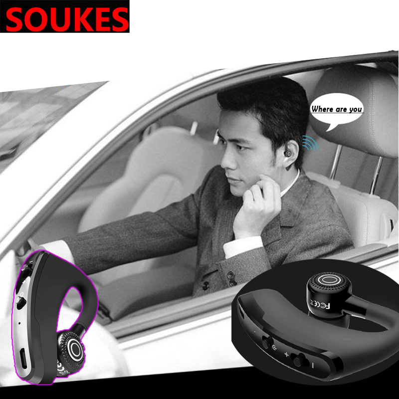 Car Wireless Bluetooth Earphones Stereo Headphones For Hyundai Solaris Tucson 2016 I30 IX35 I20 Accent Santa Fe Citroen C4 C5 C3 image