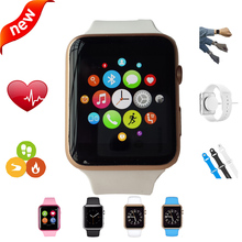 2016 New font b Smartwatch b font Bluetooth Smart watch for Apple iPhone Samsung Android Phone