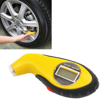 Digital LCD Car Tire Tyre Air Pressure Gauge Meter Manometer Barometers Tester Diagnostic Tools For Auto Car Motorcycle Wheel