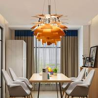 Современный Pipecone подвесные светильники Artichoke форма PH светодиодный подвесной светильник для гостиная кухня Лофт Промышленные домашний деко