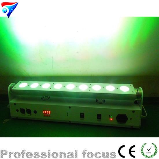 Free Shipping 4pcs/Lot Super Led Light Bar Wireless Battery Led Wall Wash Lights 9X18W RGBWA UV 6in1 Wireless DMX