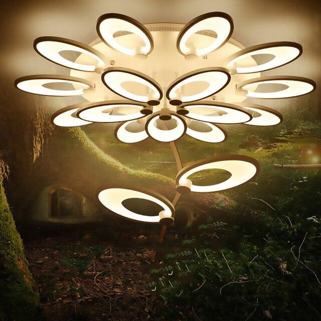 FULOC Modern led ceiling lights plafonnier ledrlighting fixtures living room bedroom dining room home ceiling lamps