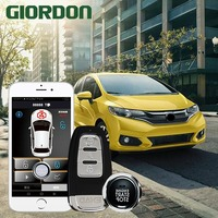 Fit 18 car accessories Keyless Entry Comfort System PKE Phone APP Remote Start Car Engine Car Alarm Push 913