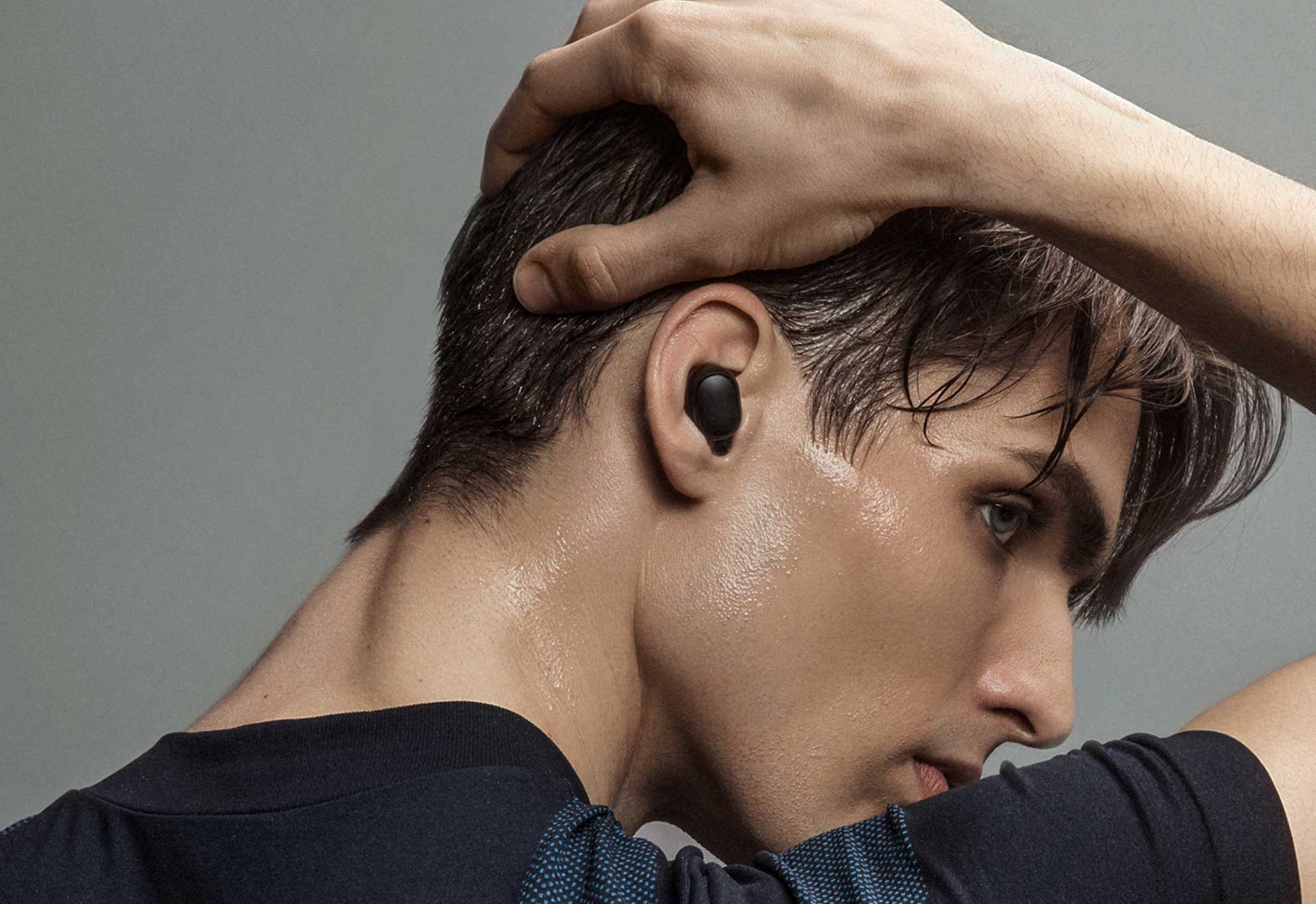 2020 newest original xiaomi redmi airdots tws stereo bluetooth 5.0 in-ear headset anc and mic hands-free earphones ai control