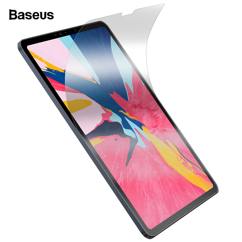 Baseus Paper Like Screen Protector Film Matte PET Anti Glare Portect Painting Film For IPad Pro 2018 12.9 11 10.5 9.7 7.9 Inch