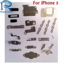 1 комплект для iPhone 5 5 г внутренняя аксессуары внутри небольшой металлический Запчасти держатель кронштейн защитная пластина ремонтный комплект для iphone 5 пять