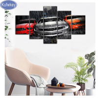 Multi picture Combination Red Grey Car,paint whit Diamond embroidery Diamond Painting Cross Stitch,Mosaic Full Square drill arts