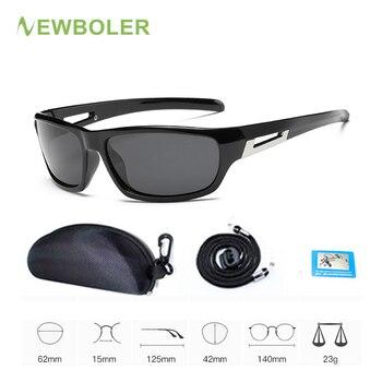 77d4a0ce95 NEWBOLER gafas De Sol polarizadas De pesca para los hombres las mujeres  conducción ciclismo gafas De