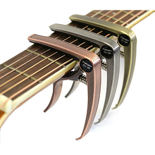 Zinc Alloy Capo for Acoustic Classic Electric Guitarra Tuning Clamp Musical Instrument Accessories Grid Guitar Parts FC-3R