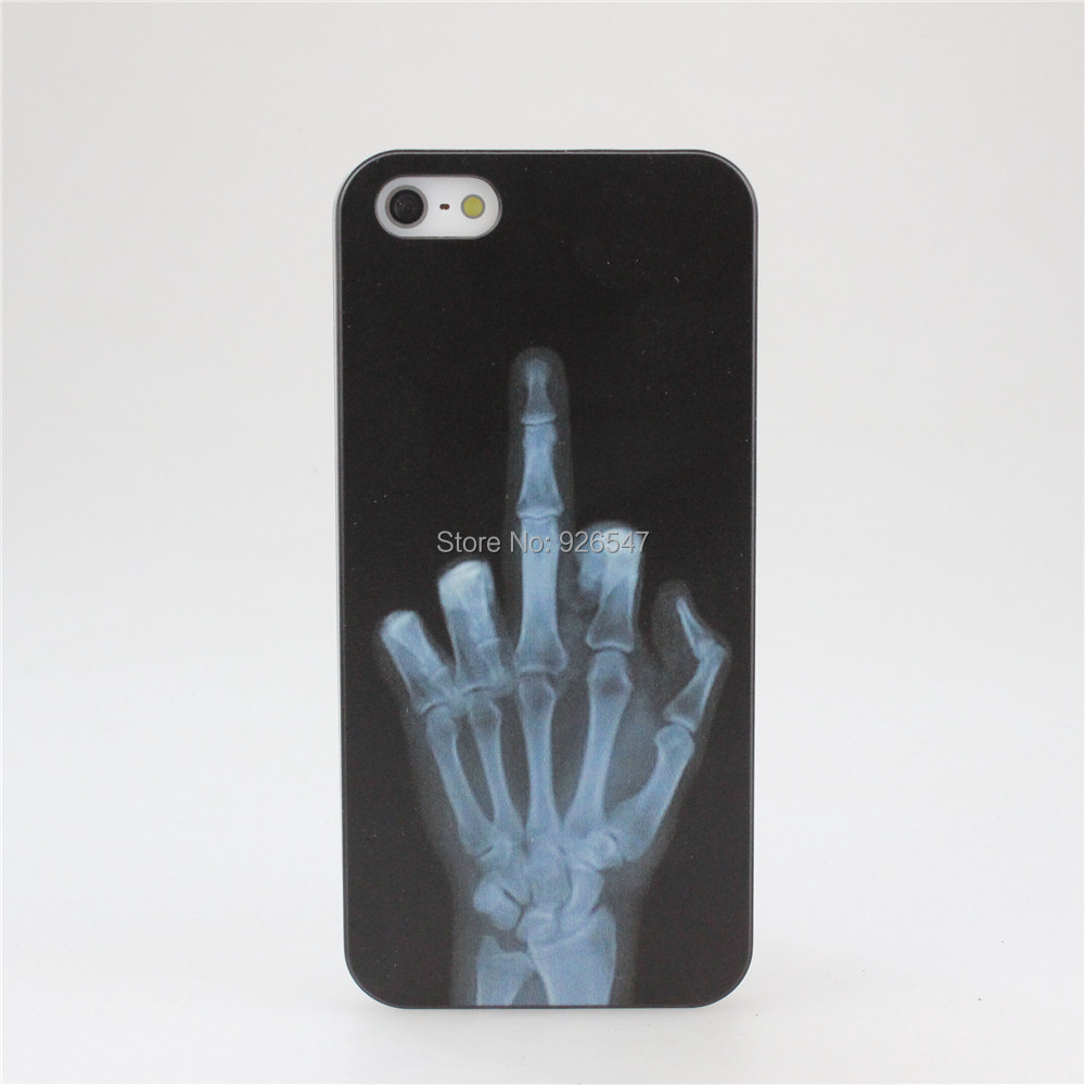 New X-RAY Middle Finger Hard PC...