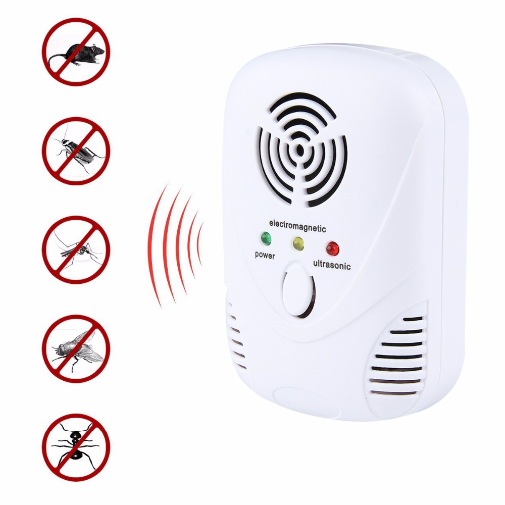 Nosii Electronic Electromagnetic Ultrasonic Indoor House Plant Rat Mic Mouse Mosquito Bug Pest Repellent Repeller