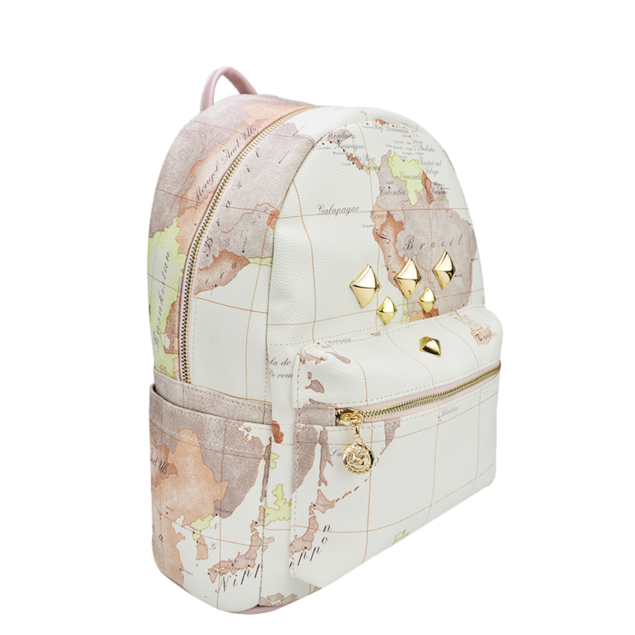 Designer backpack women high quality world map backpack rivet designer backpack women high quality world map backpack rivet leather men backpack fashion travel backpacks vintage school bags in backpacks from luggage publicscrutiny Images
