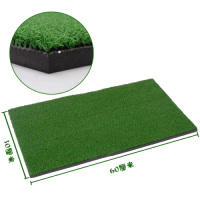 60x30cm Backyard Golf Mat 12 X24 Residential Training Hitting Pad Practice Rubber Tee Holder Grass Indoor