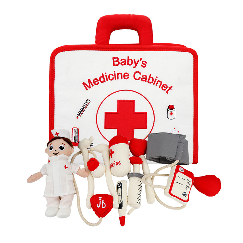 Jouets pour bébés Bébé Jeux de simulation Médecin Jouets Jouet Hospitalier des Enfants Médecin Ensemble jouets éducatifs pour Enfants