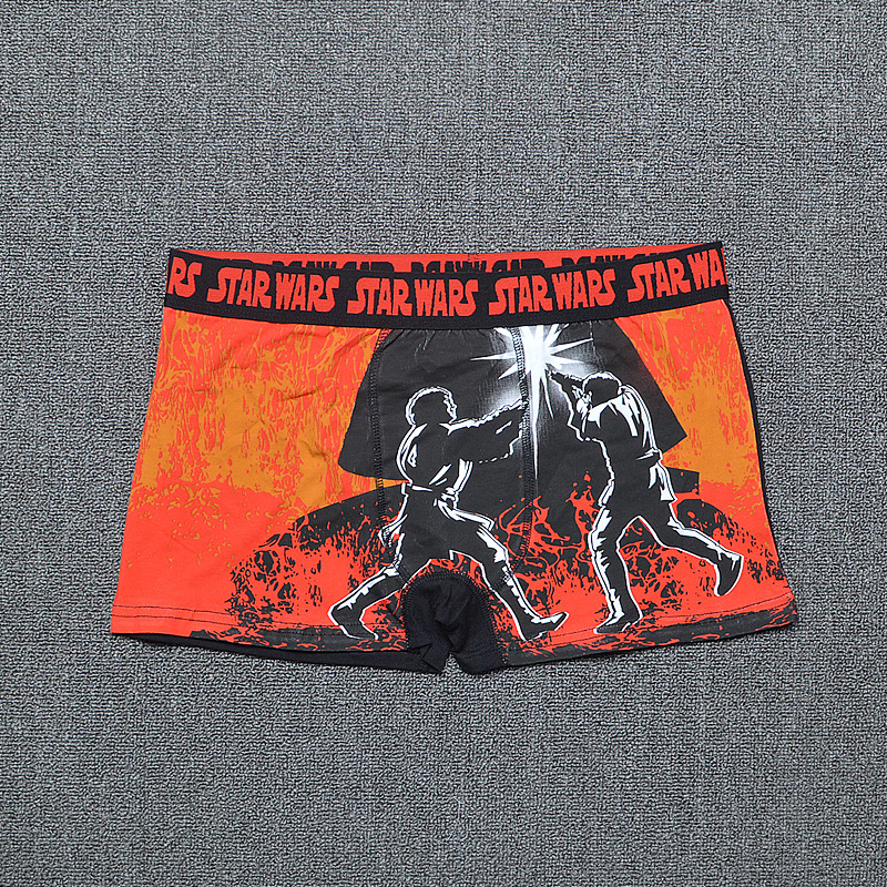 Star Wars Boxers Storm Trooper Underpants Print Boxer Underwear Cotton Men Boxers Shorts Panties Mens Under Wear Trunks GWSMV180