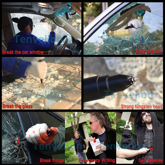 Self Defense Supplies Tactical Pen Security protection Tungsten Steel self defense/survival tool