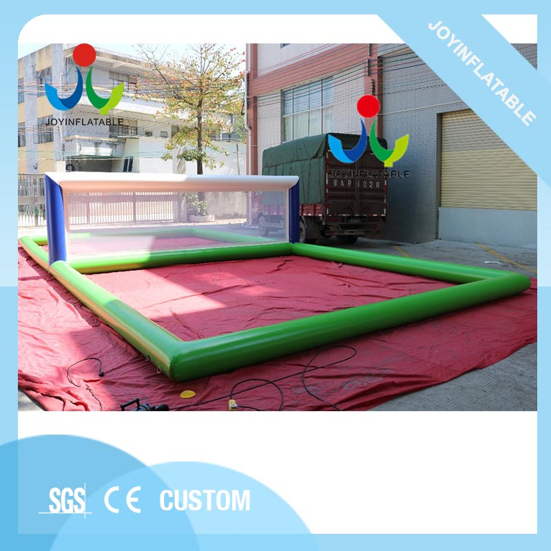 Inflatable Beach Volleyball Field Sport Games And Entertainments For Sale