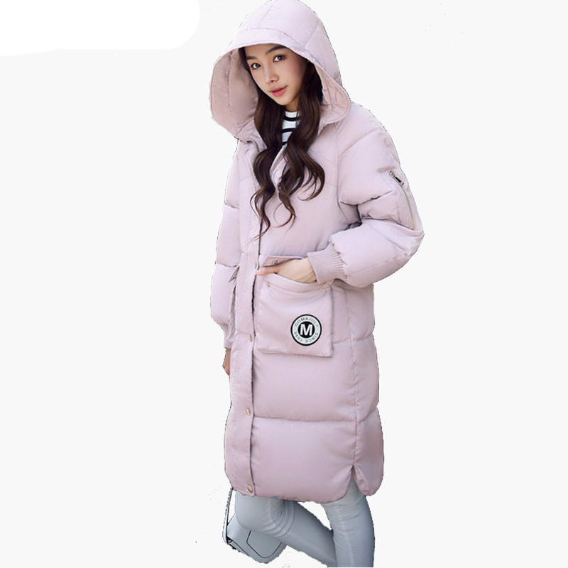 Winter Women's Fashion Down Warm Coats 2016 New Arrival Fashion Long sleeve Hooded Jackets Slim Style Casual Parka Coat 2017 fashion boy winter down jackets children coats warm baby cotton parkas kids outerwears for