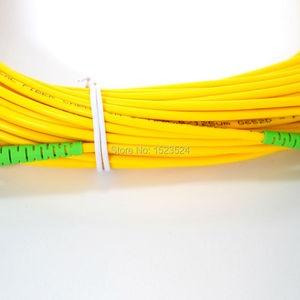 Image 3 - Free Shipping SM SX PVC 3mm 3m 5m 10m 15m 20m 25m 30m SC/APC Fiber Optic Jumper Cable SC/APC SC/APC Fiber Optic Patch Cord