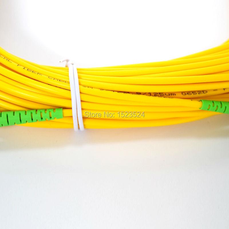 SM SX PVC 3mm SC / APC 광섬유 잠바 케이블 SC / APC-SC / APC - 통신 장비 - 사진 3