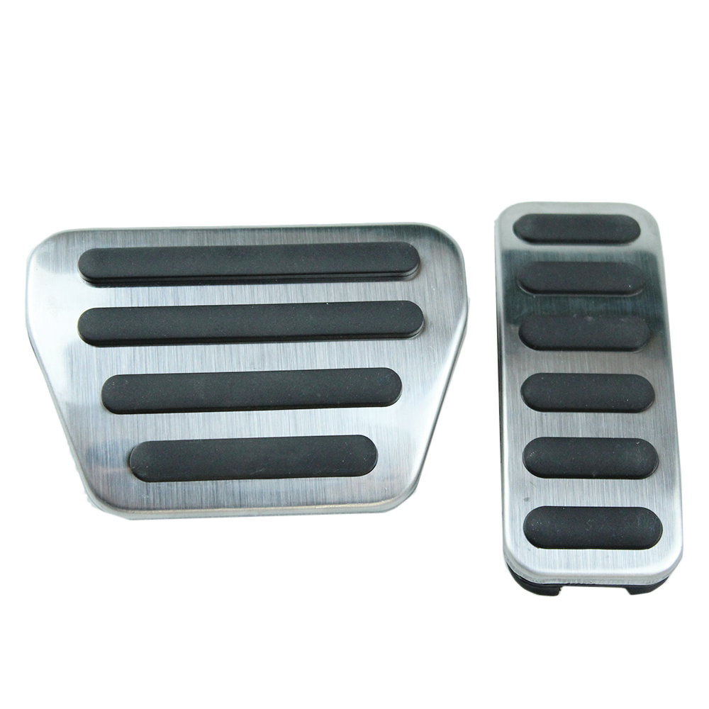 Accelerator Brake Foot Rest Pedal Pads For Land Rover Range Rover VOGUE/SPORT 2013 - 2016 AT Non-Slip Fuel Gas Pedal Covers